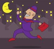 noc pracownik royalty ilustracja