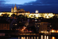 noc Prague Fotografia Royalty Free