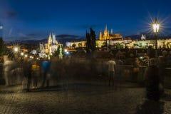 noc Prague Zdjęcia Royalty Free