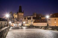 noc Prague Obrazy Royalty Free
