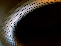 Noc przy Basel Szwajcaria obrazy stock