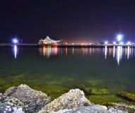 Noc przy Dżakarta Fotografia Stock