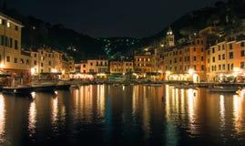 Noc przy Włochy Zdjęcia Royalty Free