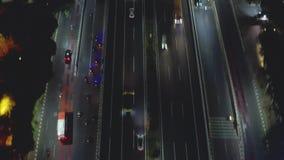 Noc ruch drogowy na Dżakarta Wewnętrznej obwodnicie zbiory