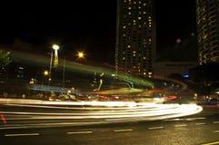 noc ruchu Obraz Royalty Free