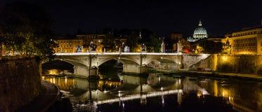 noc Rzymu Zdjęcie Stock