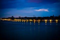 noc s Venice Zdjęcie Stock