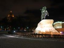 Noc Saint-Petersburg fotografia stock
