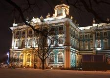Noc Saint-Petersburg zdjęcie stock