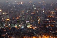 noc Shanghai Obrazy Stock
