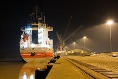 noc statek Zdjęcie Stock