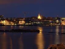 noc Stavanger Obrazy Royalty Free