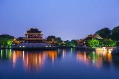 noc Suzhou Zdjęcia Royalty Free