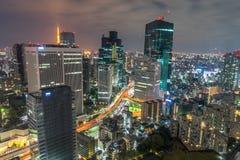 noc Tokio Zdjęcie Royalty Free