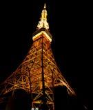 noc Tokyo wierza Zdjęcie Stock
