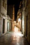 noc ulica zdjęcia stock