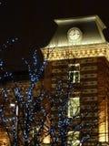 Noc urok Moskwa i bajecznie nowy rok Obrazy Royalty Free