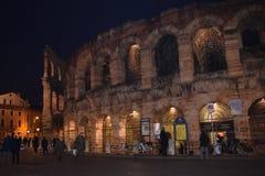 Noc Verona Zdjęcie Stock