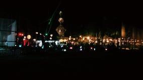 Noc w Boracay Fotografia Royalty Free