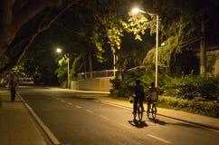 Noc w kampusie Zdjęcie Stock