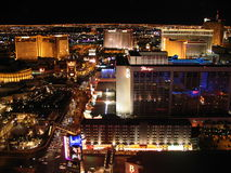 Noc w Las Vegas Fotografia Stock