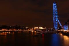 Noc w Londyn Fotografia Stock