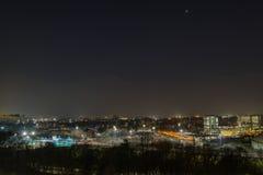 Noc w mieście Obraz Stock