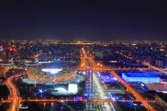 Noc w Pekin obraz royalty free