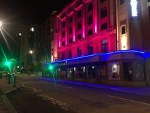 Noc w Southampton Fotografia Royalty Free