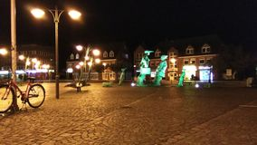 Noc w Sylt Obrazy Royalty Free