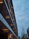 Noc w Xicun, Chengdu, Chiny fotografia royalty free