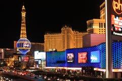 Noc widok Las Vegas miasto obraz royalty free
