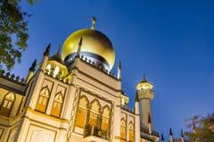 Noc widok religijny meczet Fotografia Royalty Free