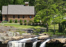 Noccalula Falls Church Royalty Free Stock Images