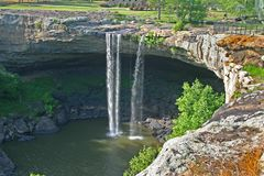 Noccalula Falls (horizontal) Stock Photography