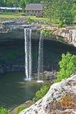 Noccalula Falls (vertical) Stock Images