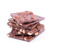 Nocciola del cioccolato Immagini Stock