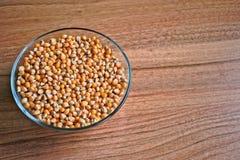 Noccioli del popcorn fotografie stock