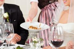Noce au dîner photo libre de droits