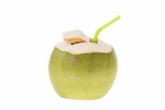 Noce di cocco fresca Fotografie Stock
