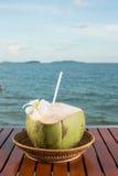 Noce di cocco fresca Fotografia Stock