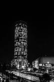 Noce w Bucharest Zdjęcie Royalty Free