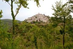 Nocera Umbra - l'Italie Image stock