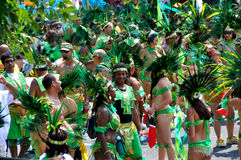 Noceurs de Caribana Images libres de droits