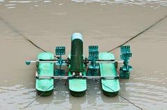 Noch Abwasser-Wasser-Drehbeschleunigungs-Maschine Stockfotografie