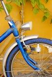 Noch buntes Fahrrad Stockfoto