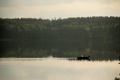 Noch fischend stockbilder