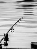 Noch fischend Stockbild