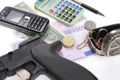 Noch Leben - Geschichte des Gangsters Lizenzfreies Stockfoto