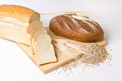 Noch Leben mit Brot Stockfotografie